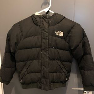 Girls Small North Face Down Jacket